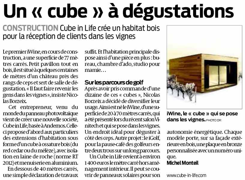sud-ouest article