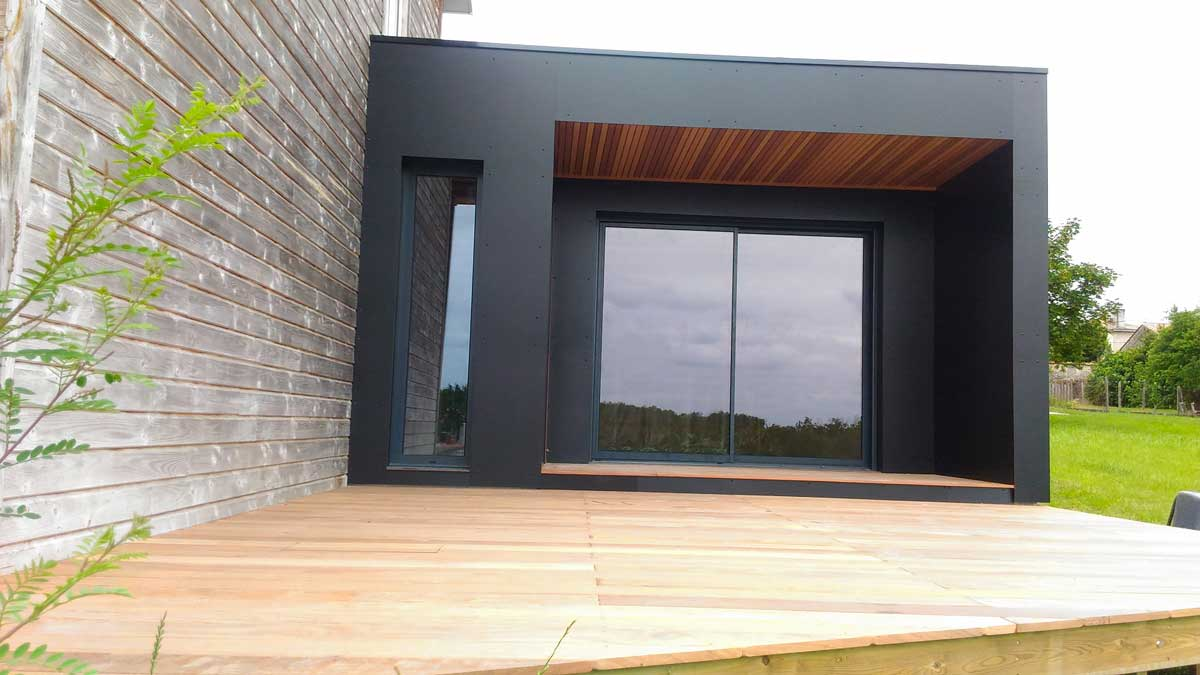 extension agrandissement cube in life aquitaine. Black Bedroom Furniture Sets. Home Design Ideas